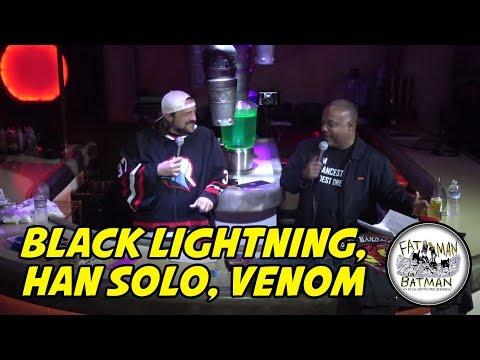 BLACK LIGHTNING, HAN SOLO, VENOM