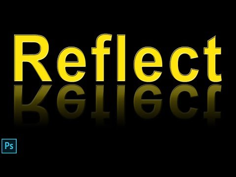 Photoshop Reflection Tutorial: How To Make Reflection In Photoshop In Hindi/Urdu.