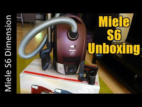 miele s6 aka c2 dimension unboxing s6270 canister vacuum cleaner