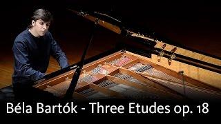Béla Bartók - Three Etudes op. 18, Sz. 72 - Mark Taratushkin