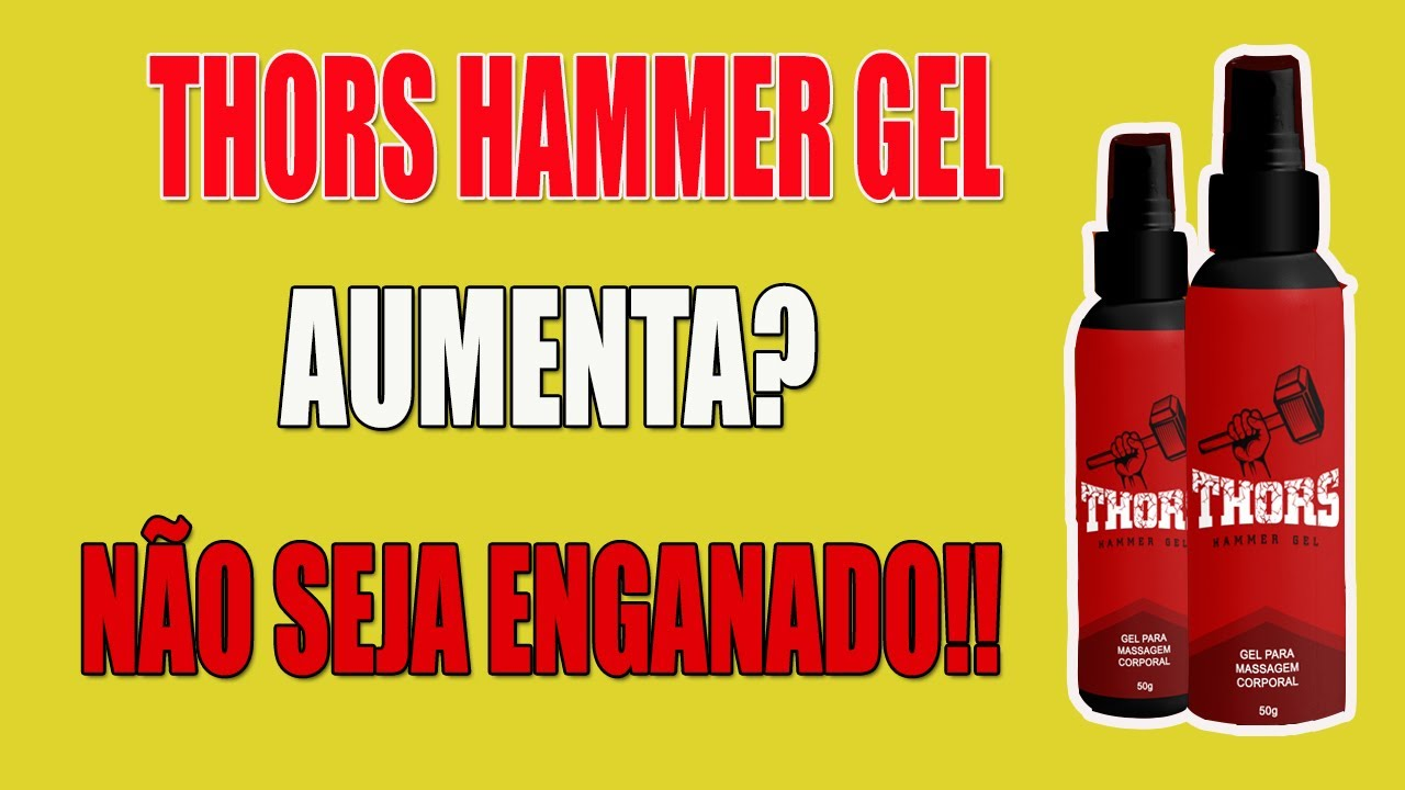 hammer of thors gel video
