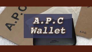 아페쎄 조쉬 지갑 - 다크브라운 색상 / A.P.C J…