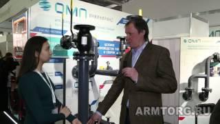 ОМП-Инжиниринг. Интервью с исполнительным директором А. Панафидиным в рамках Aquatherm Moscow 2017.