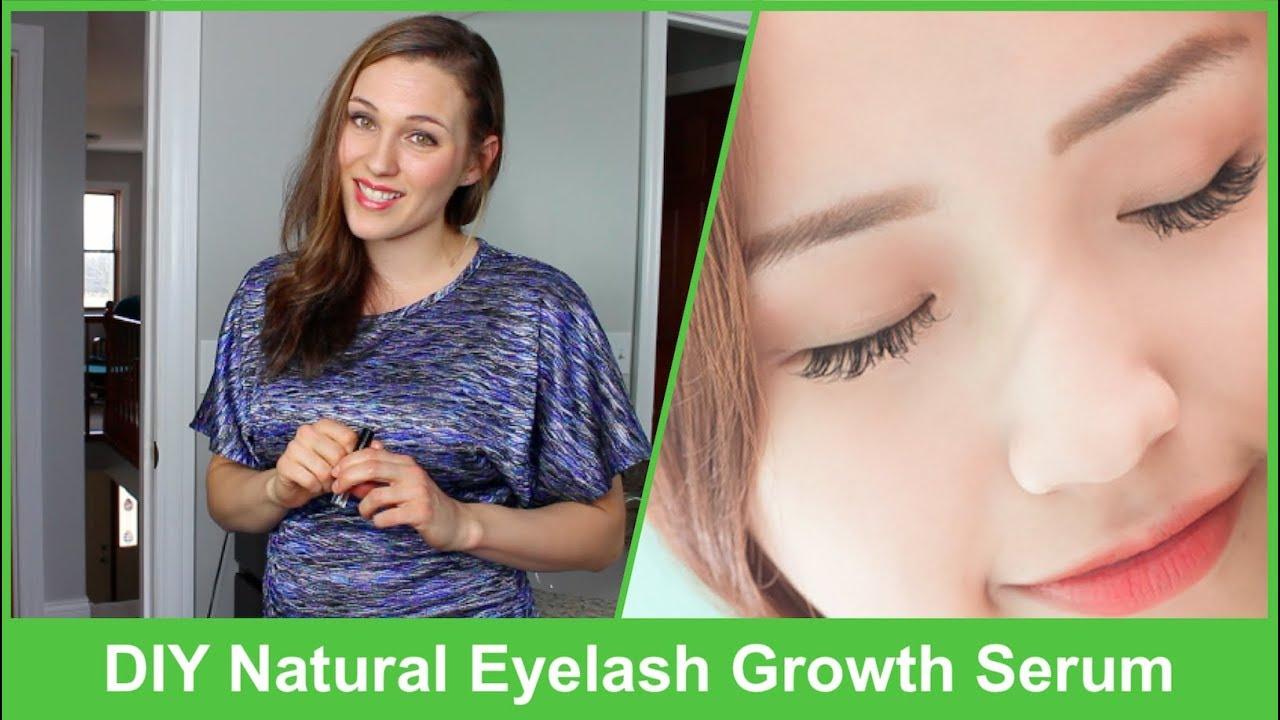 Diy Natural Eyelash Growth Serum 2018 This Works Awesome Youtube