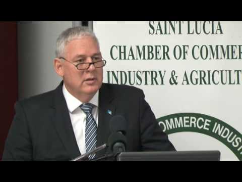 Prime Minister Allen Chastanet's address to the Chamber of Commerce on the Pearl of the Caribbean