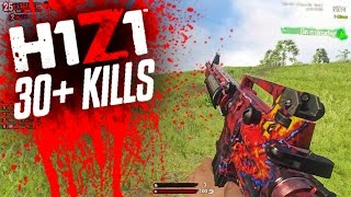 30+ KILL GAME! - H1Z1 KING OF THE KILL