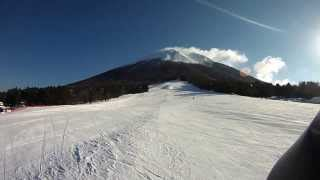 2014シーズン2日目(桝水高原スキー場)