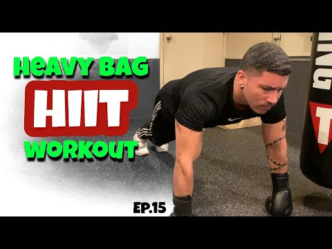 5 Minute Boxing Heavy Bag HIIT Workout (BOXING TIP SERIES)
