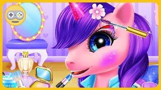 Маленькие пони - Академия принцесс - Модные и веселые лошадки * Игра для девочек на Kids PlayBox