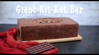 Giant Kit Kat Bar [BA Recipes]