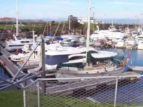 A tour of Beaucette Marina, Guernsey