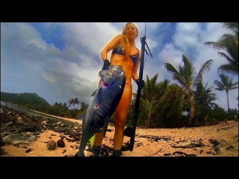 Spearfishing Pacific Islands 2016