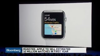 Apple Watch Sales Will Grow as Apps Develop: Munster