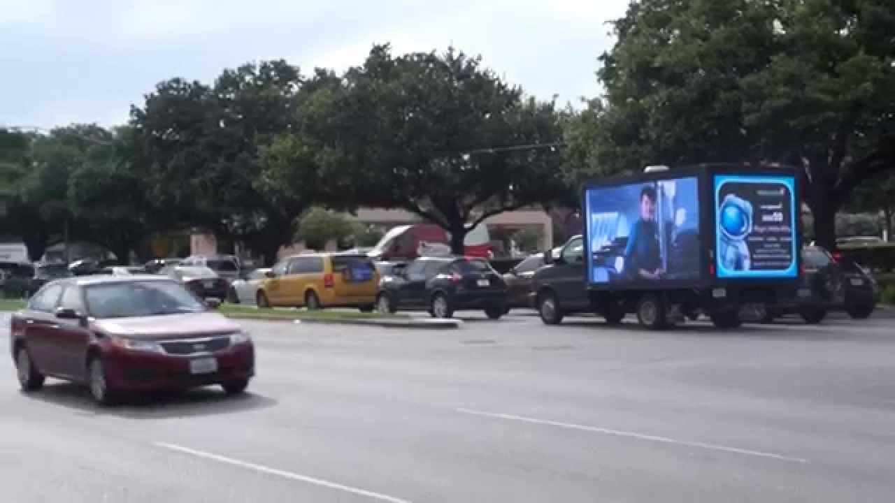 Mobile Digital LED Advertising Billboard Truck for sale ...