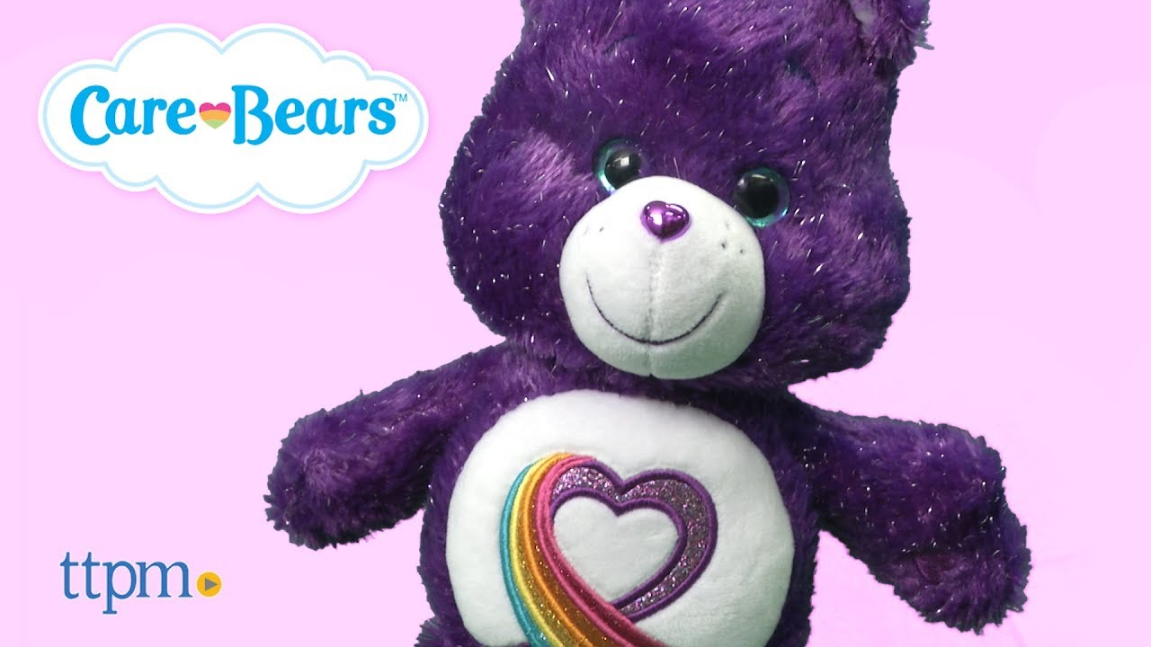 Limited Edition 35th Anniversary Care Bear from Just Play  YouTube