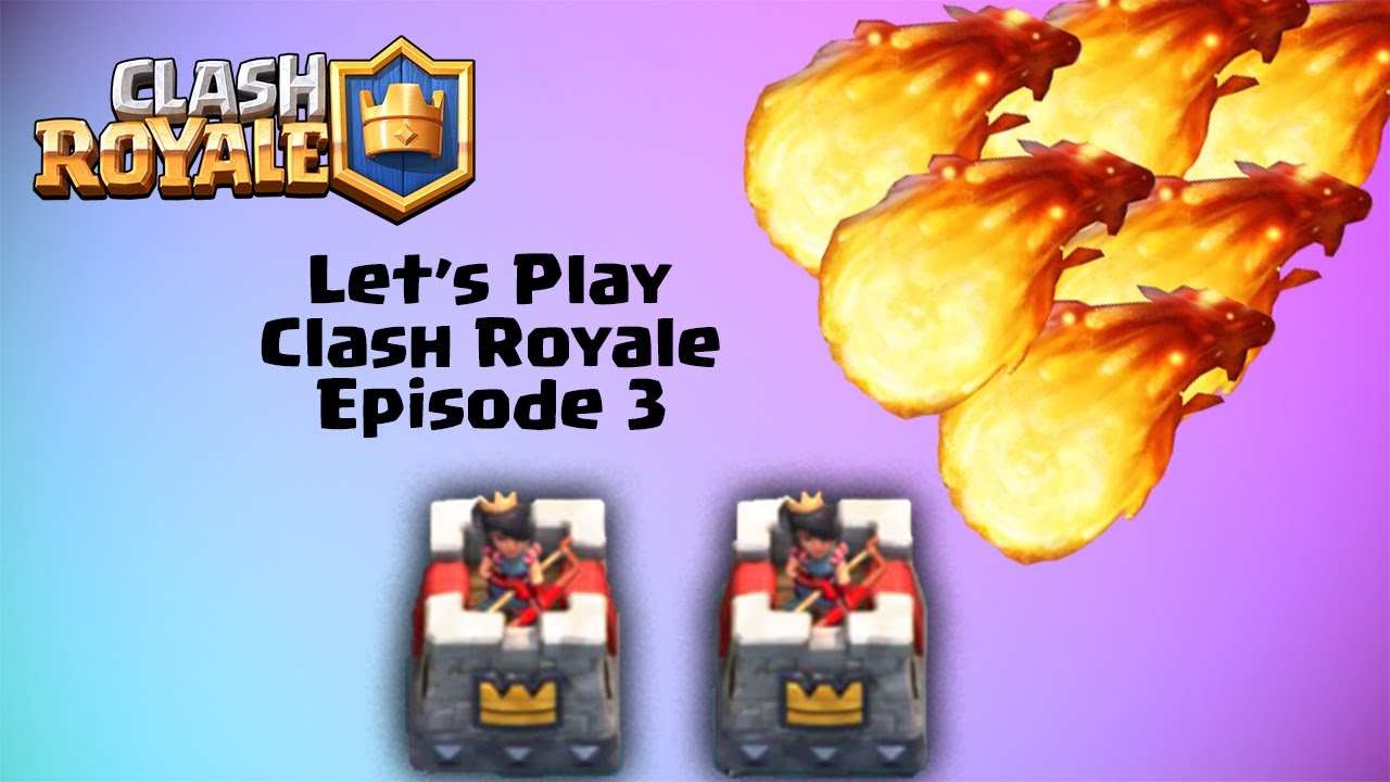 Cuisine Royale Guide F2p Let S Play Clash Royale Guide Episode 3 Why You Fireball My Tower