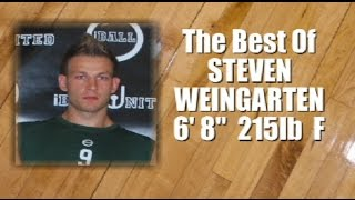 "The Best Of ""STEVEN WEINGARTEN""  6' 8""  215LB  FORWARD 2015 iBall United Pro Combine Highlights"