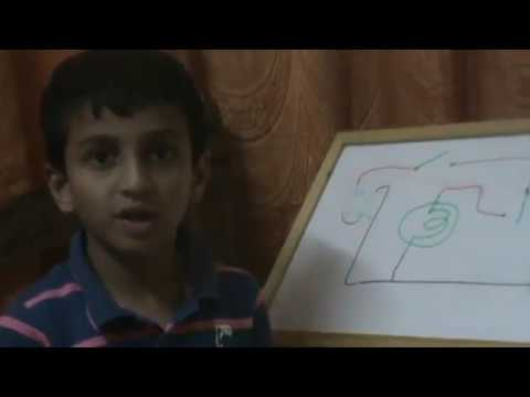 Abhinav AR: Class VI (India): Electric Circuites and Steady Hand Tester game