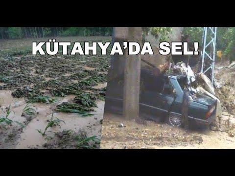 KÜTAHYA'DA SEL! ZARAR ÇOK BÜYÜK... - FLOOD DISASTER IN TURKEY
