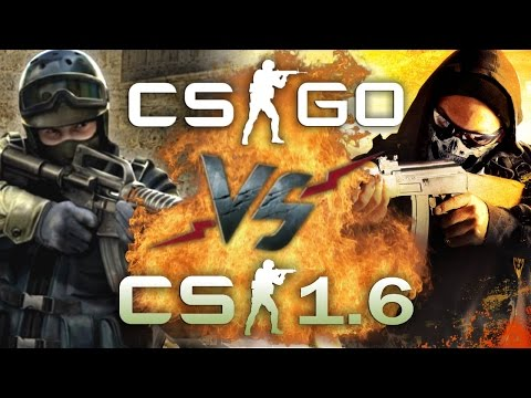 Рэп Баттл - Counter-Strike: Global Offensive vs. Counter-Strike 1.6