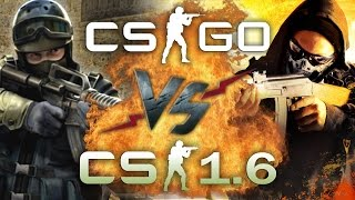 рэп Баттл - Counter-Strike: Global Offensive vs. Counter-Strike 1.6