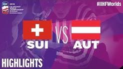 Switzerland vs. Austria - Game Highlights - #IIHFWorlds 2019