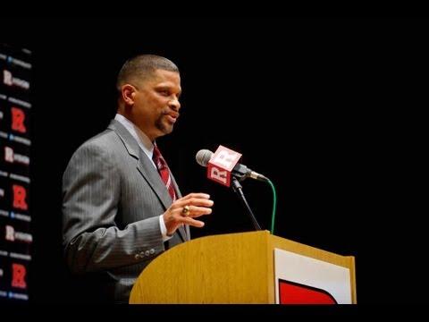 RVision: Rutgers Introduces Eddie Jordan as Head Men's Basketball Coach