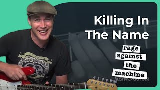 Killing In The Name Of - Rage Against The Machine - Guitar Lesson (SB-313) How to play