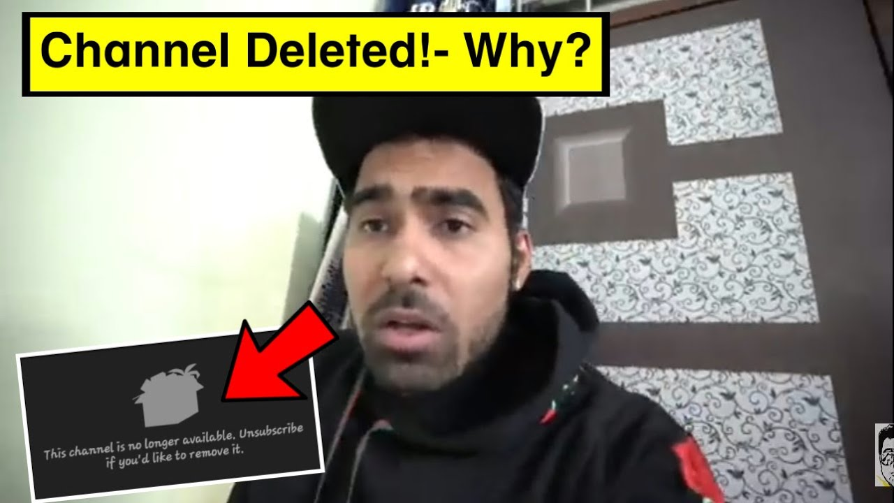 GAURAVZONE Channel *Deleted* from YouTube!- Why?