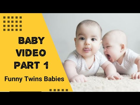 Best Videos Of Funny Twin Babies Compilation | Twins Baby Video Part 1