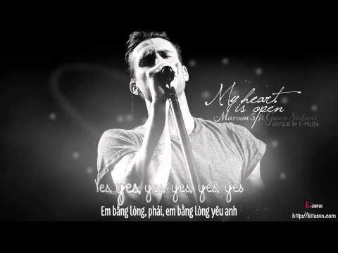 [Lyrics + Vietsub] My heart is open - Maroon 5 ft. Gwen Stefani {Track #11} ~ Kitesvn.com