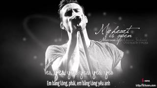 [Lyrics + Vietsub] My heart is open - Maroon 5 ft. Gwen Stefani {Track #11} ~ Kitesvn.com