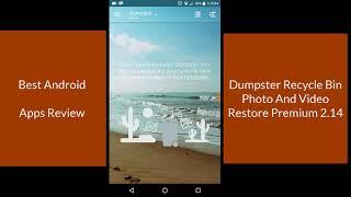 Dumpster Recycle Bin Photo And Video Restore Premium 2.14 screenshot 3
