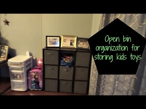 Open Bin Organization For Storing Kids Toys In The Living Room Part 88