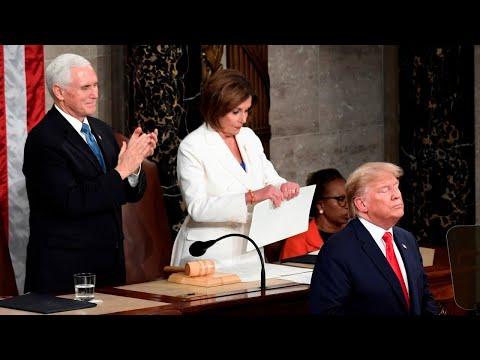 Nancy Pelosi Ripping Up Donald Trump's Speech Will Cause A 'big Shift'