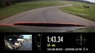 homepage tile video photo for 2020 Lamborghini Huracan EVO at Lightning Lap 2021