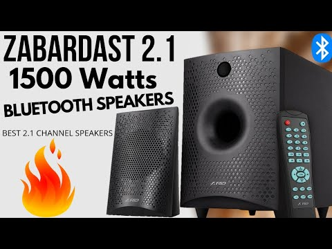 F D F210x Bluetooth Speakers Best 2 1 Home Theater System Youtube