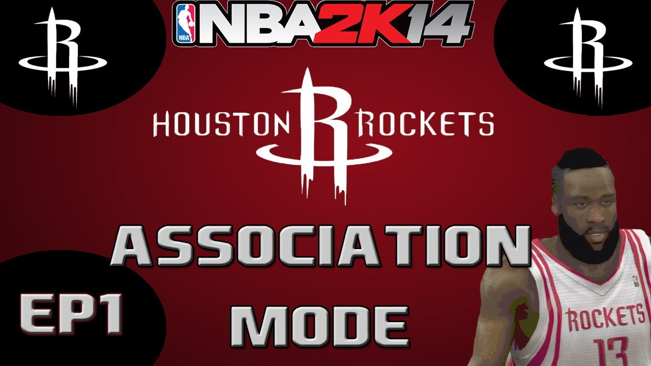 4cfaafacbf8 NBA 2K14 Association Mode  Houston Rockets Season Challenge - The Intro!   EP1