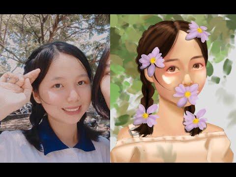 #study Beautiful Summer Day   Speed Paint   Photoshop   Digital Art   Draw My Fan Photo