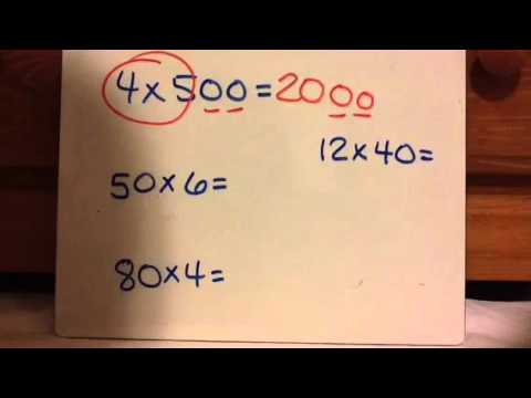 TEK 4.4 B: Multiplying by 10s and 100s Using Place Value Understanding