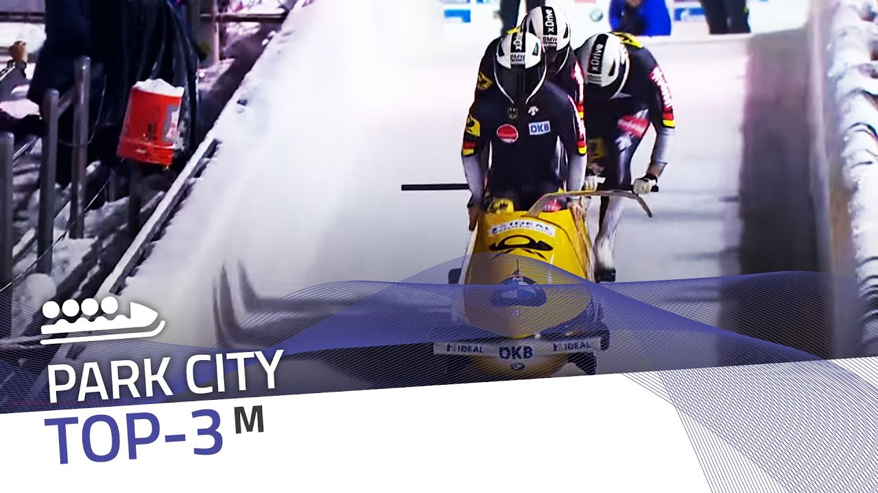 Park city | 4-man bobsleigh top-3 (race 2) | ibsf official