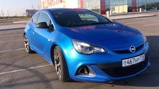 Opel Astra OPC!  Горячий хэтч от Опель.  Обзор и тест-драйв.  - YouTube