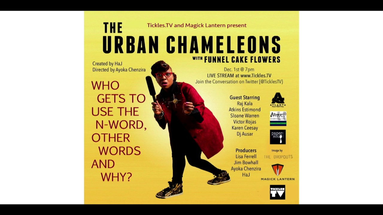 Urban Chameleons: Who Gets to use the N-word, other words, and why