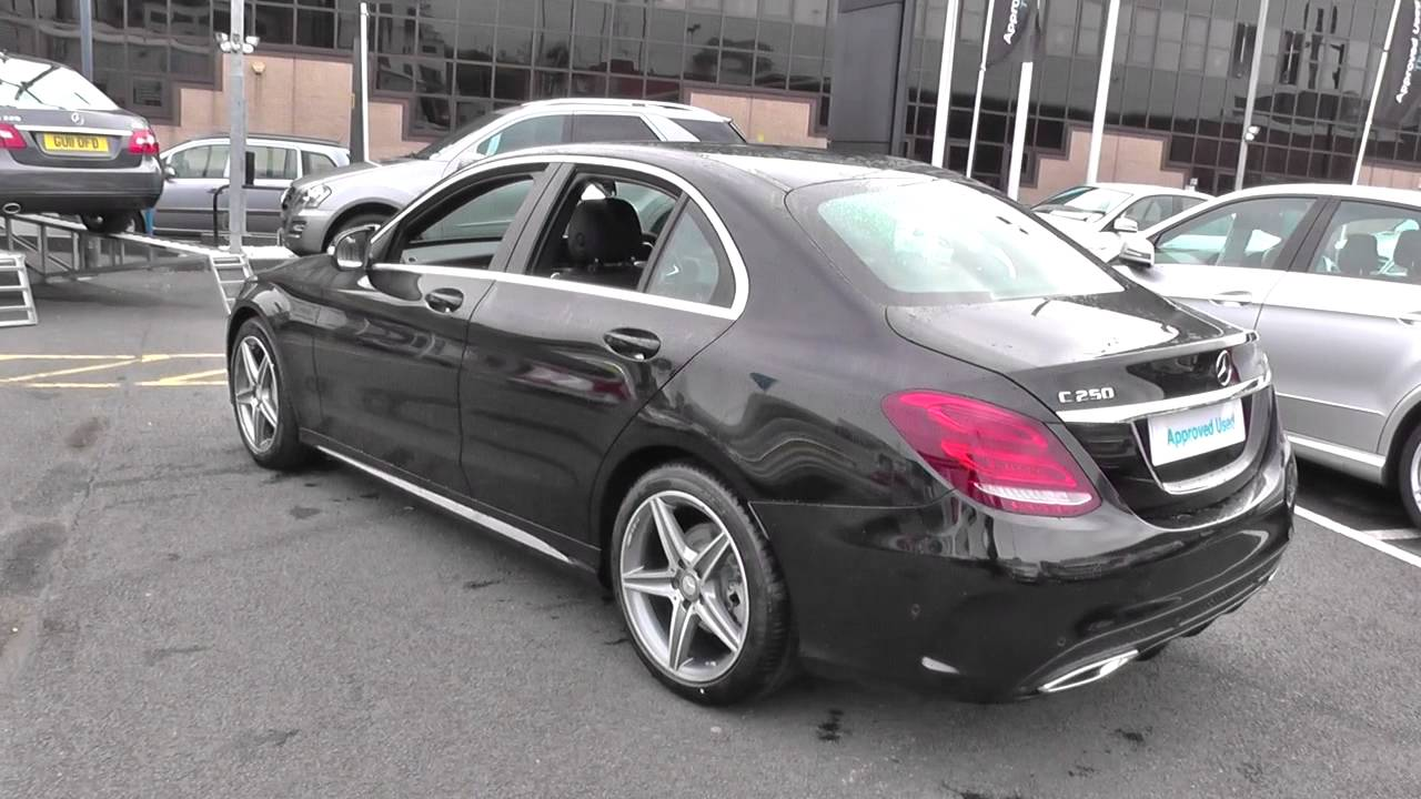 Mercedes benz c class saloon 205 c250 bluetec amg line for Mercedes benz c250 amg