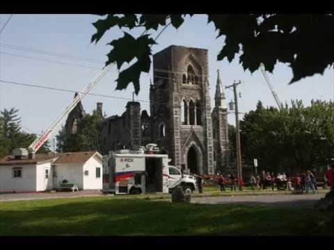 Aylmer Quebec Canada Fire In Saint Paul Church June 11th 2009