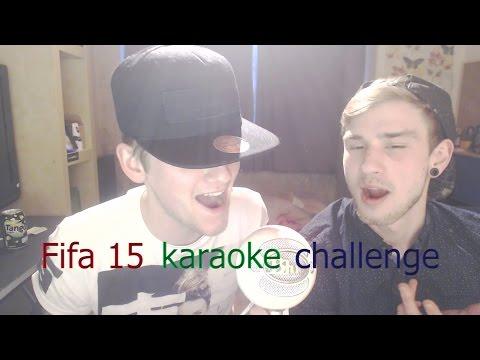 THE SINGING GOD   Fifa 15 karaoke challenge