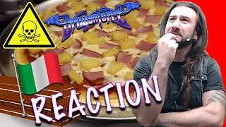 DragonForce Reaction - How to Make a Hawaiian Pizza with Drummer Gee Anzalone - Trolled by Herman Li