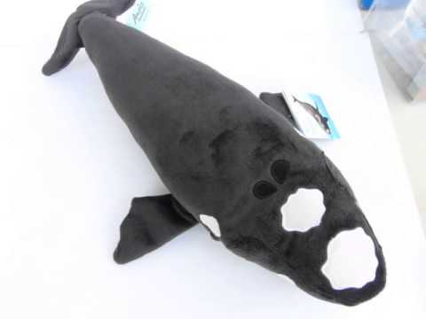 Southern Right Whale Soft Toy with authentic sound