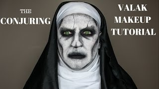 The Conjuring 2 Valak - Demonic Nun Makeup Tutorial - Lukehartmua