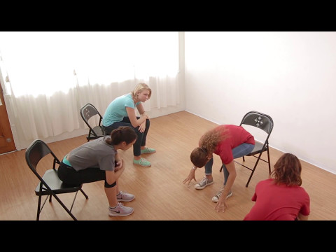 Lesson 1 Slow Down: 10 Minute Chair Yoga Class for Teens | Ages 13-18